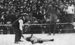 Jack Johnson vs. Stanley Ketchel
