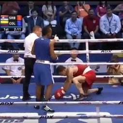Amateur KO Professional Boxer (2016 Olympics)