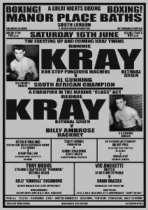 Ronnie & Reggie Kray Poster