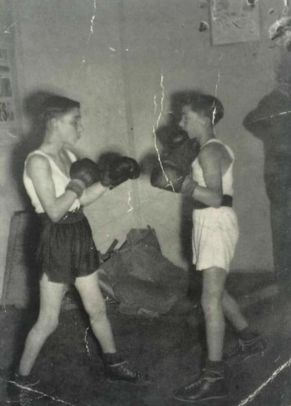 The Krays as youths