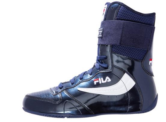 Dusty Hernandez Harrison Fila boxing shoe (black)