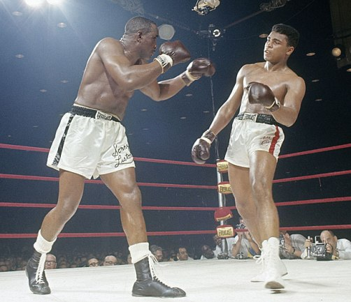 Sonny Liston vs. (Cassius Clay) Muhammad Ali