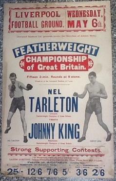 Nel Tarleton vs. Johnny King poster